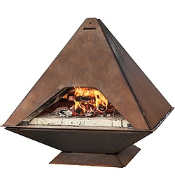 Pizza Oven, corten steel